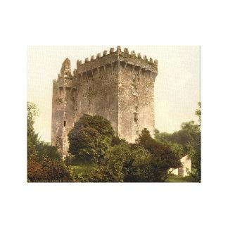 Cortiça do castelo do Blarney, Ireland, impressão  Impressão Em Tela