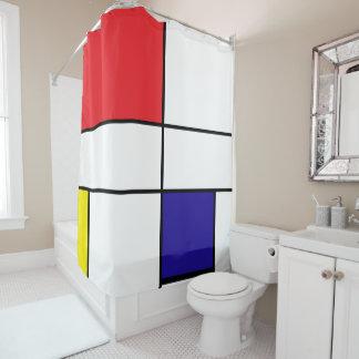 Cortina Para Box Mondrian, minimalista