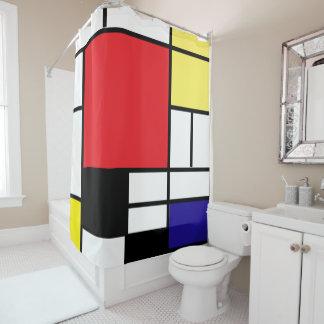 Cortina Para Chuveiro Mondrian, minimalista