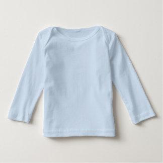 Coruja azul personalizada do t-shirt   do