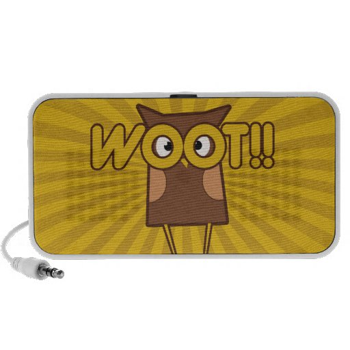 Coruja bonito do woot caixinhas de som para pc