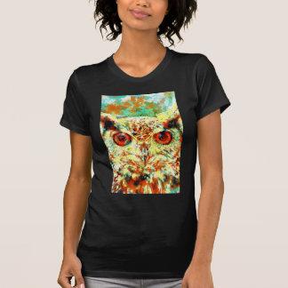 Coruja da aguarela t-shirts