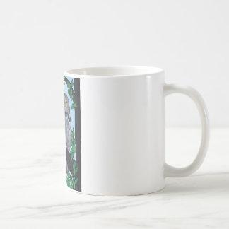 Coruja da árvore caneca de café