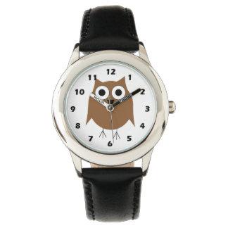 Coruja de Brown Relógios