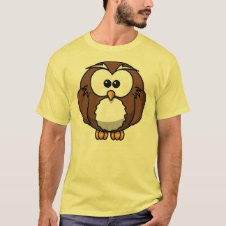 Coruja de Brown T-shirt