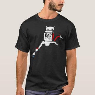 Coruja de noite t-shirts
