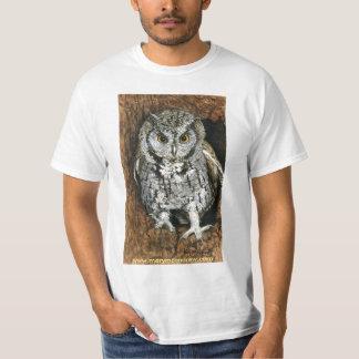Coruja de Screech T-shirts