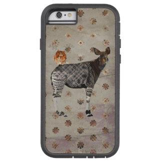 CORUJA DO OKAPI & DO ANTLER CAPA TOUGH XTREME PARA iPhone 6