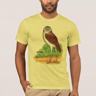 Coruja extinto camiseta