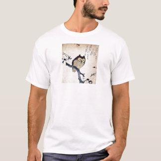 Coruja japonesa camiseta