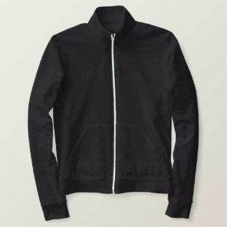 Coruja nevado jaqueta bordada
