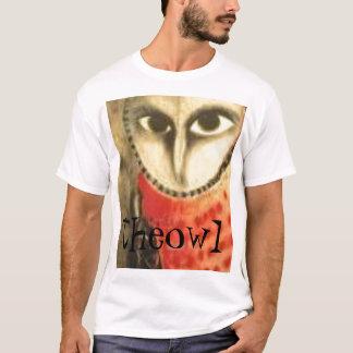 coruja psicótico, theowl camiseta