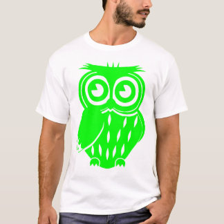 Coruja verde tshirts