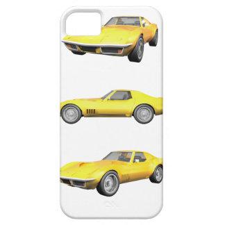 Corveta 1970: Revestimento amarelo: Capa Barely There Para iPhone 5