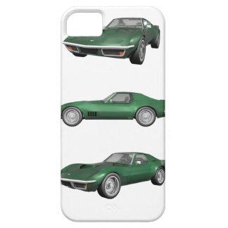Corveta 1970: Revestimento verde Capas Para iPhone 5
