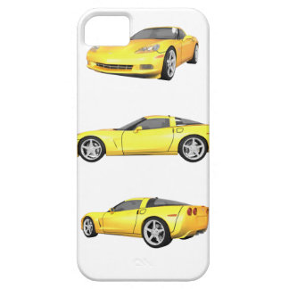 Corveta amarela: capas para iPhone 5