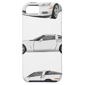 Corveta branca: capa para iPhone 5