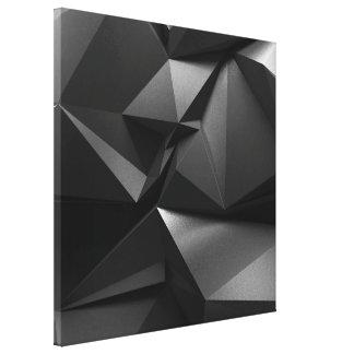 Corvo preto impressão em tela