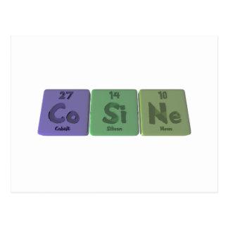 Cosine-Co-Si-Ne-Cobalt-Silicon-Neon.png Cartão Postal