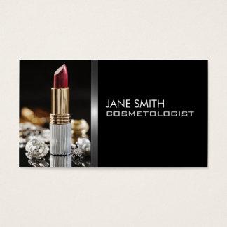 Cosmetologia do Cosmetologist do maquilhador Cartão De Visitas