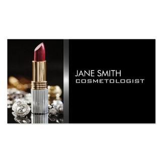 Cosmetologia do Cosmetologist do maquilhador Cartão De Visita
