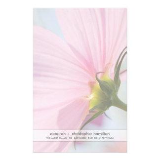 Cosmos cor-de-rosa • Artigos de papelaria papel de carta