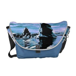 Costa congelada bolsas mensageiro