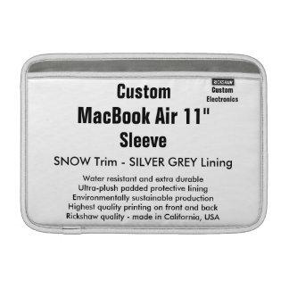"Costume 11"" neve da luva de ar (h) de MacBook, Bolsa De MacBook Air"