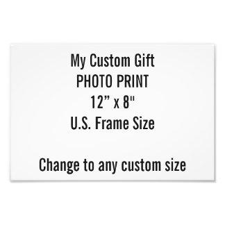 """Costume 12"""" x 8"""" impressão da foto (tamanho de impressão de foto"""