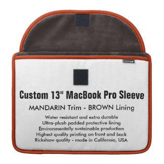 "Costume 13"" luva de MacBook Pro - o mandarino & Bolsas MacBook Pro"