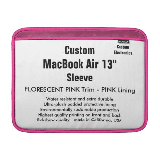 "Costume 13"" rosa da luva de ar (h) de MacBook & Bolsas Para MacBook Air"