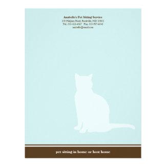 Costume de assento do serviço do animal de estimaç papel de carta personalizados