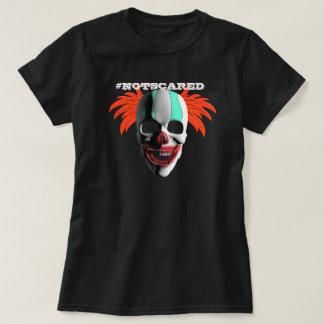 Costume do Dia das Bruxas engraçado Scared de Camiseta