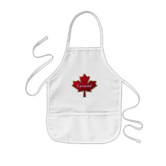 Costume do dia de Canadá Avental Infantil