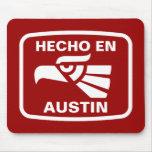 Costume do personalizado do en Austin de Hecho per Mouse Pad