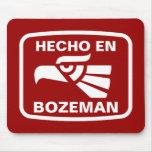 Costume do personalizado do en Bozeman de Hecho pe Mouse Pad