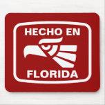 Costume do personalizado do en Florida de Hecho pe Mouse Pad