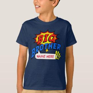 Costume do super-herói do big brother camiseta