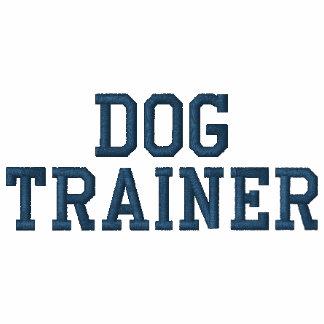 Costume do treinamento do cão da linha dos azuis camiseta bordada polo