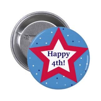 Costume feliz do Dia da Independência da estrela b Botons