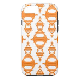 Costume moderno Backgrnd da laranja dos divisores Capa iPhone 7