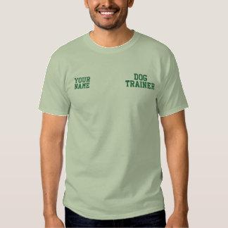 Costume verde do negócio do treinamento do cão da