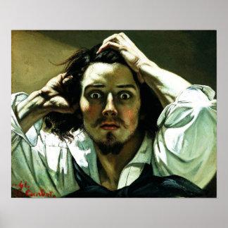 Courbet o poster desesperado do homem