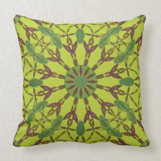 Coxim luxuoso floral abstrato travesseiro de decoração