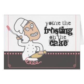 cozimento cómico indie urbano do cozinheiro chefe cartão comemorativo