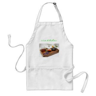 cozinha agradável avental
