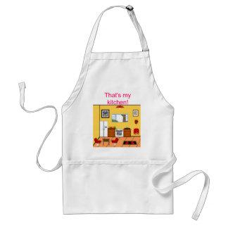 cozinha avental