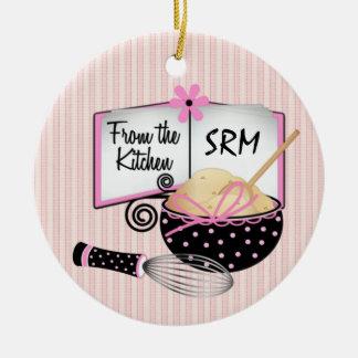 Cozinha/cozinhar - SRF Ornamento De Cerâmica Redondo
