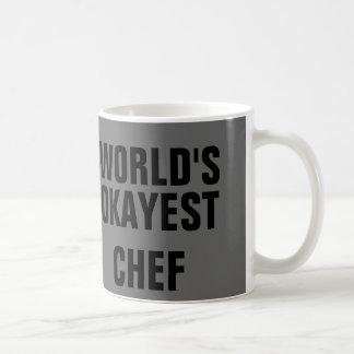 Cozinheiro chefe de Okayest Caneca De Café