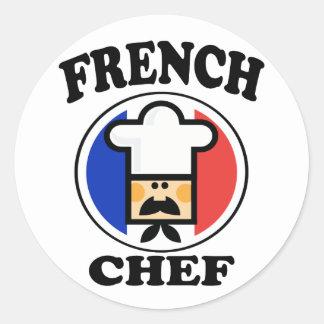 Cozinheiro chefe francês adesivo